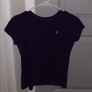 Purple Polo Ralph Lauren T-Shirt